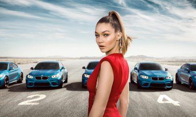 BMW M2 a Gigi Hadid