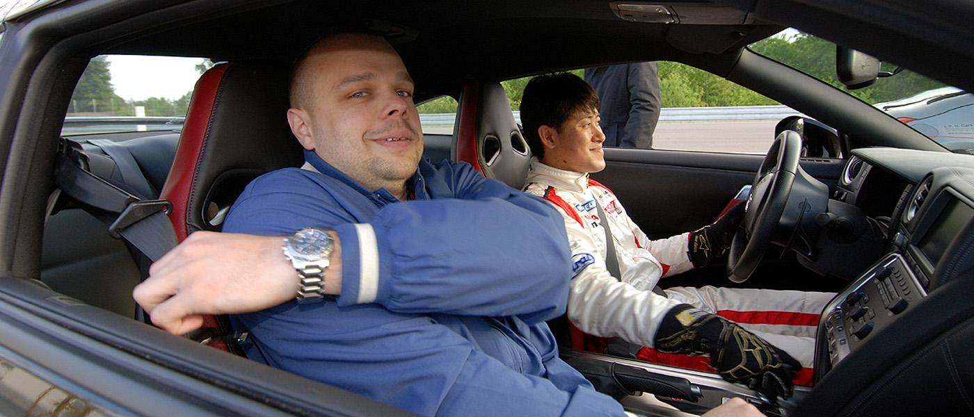 Seiji Ara a Nissan GT-R