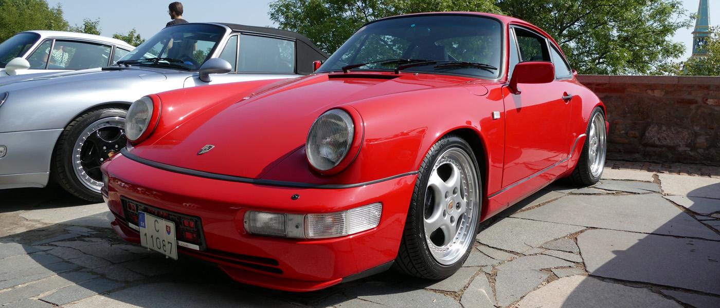 Porsche zraz na Bratislavskom hrade