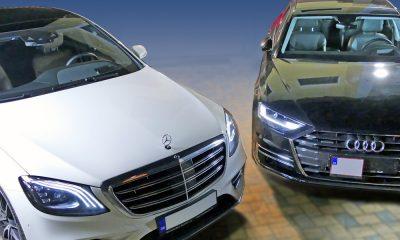Mercedes-Benz triedy S vs Audi A8