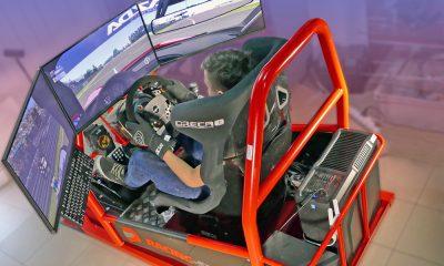 Automobilový simulátor