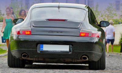 Porsche na hrade
