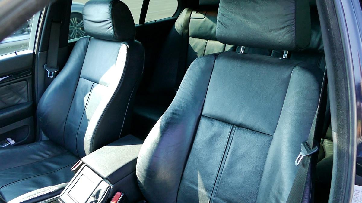 Komfortné sedadlá v BMW E39