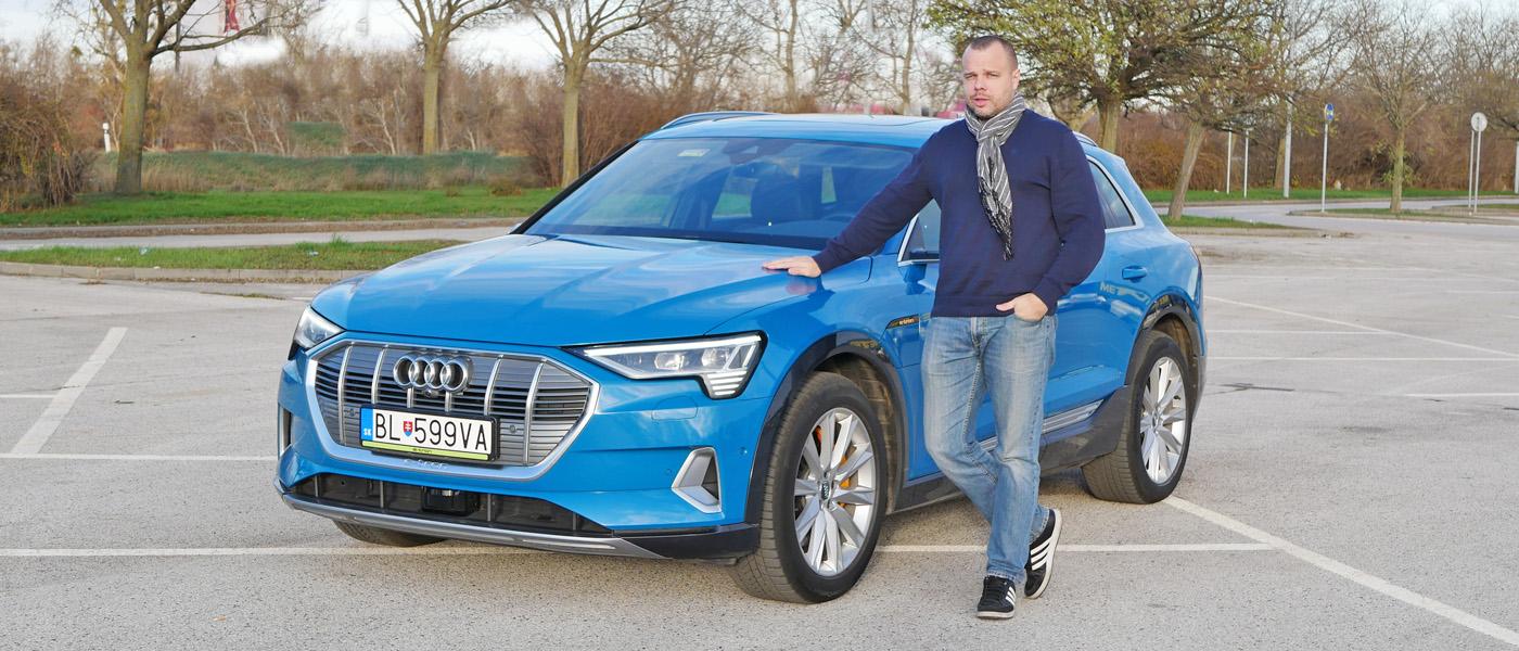 elektromobil Audi e-tron 55 quattro