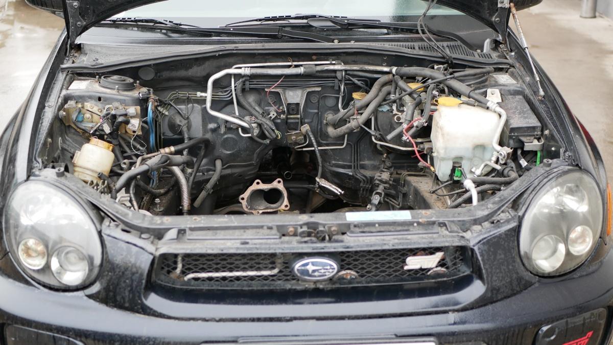 Motor v tomto Subaru Impreza WRX STI ešte nie je