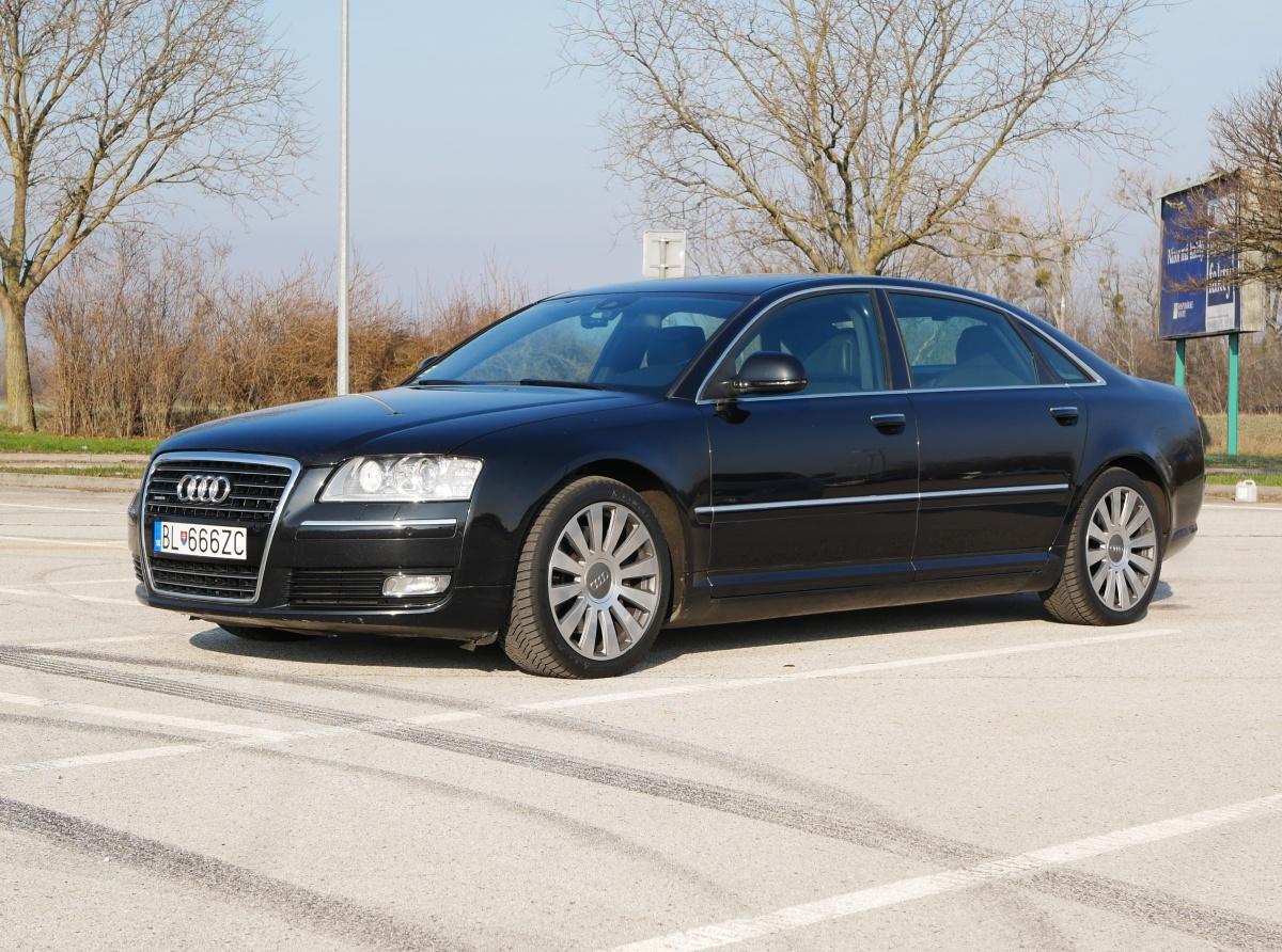 Audi A8 L 4.2 D3