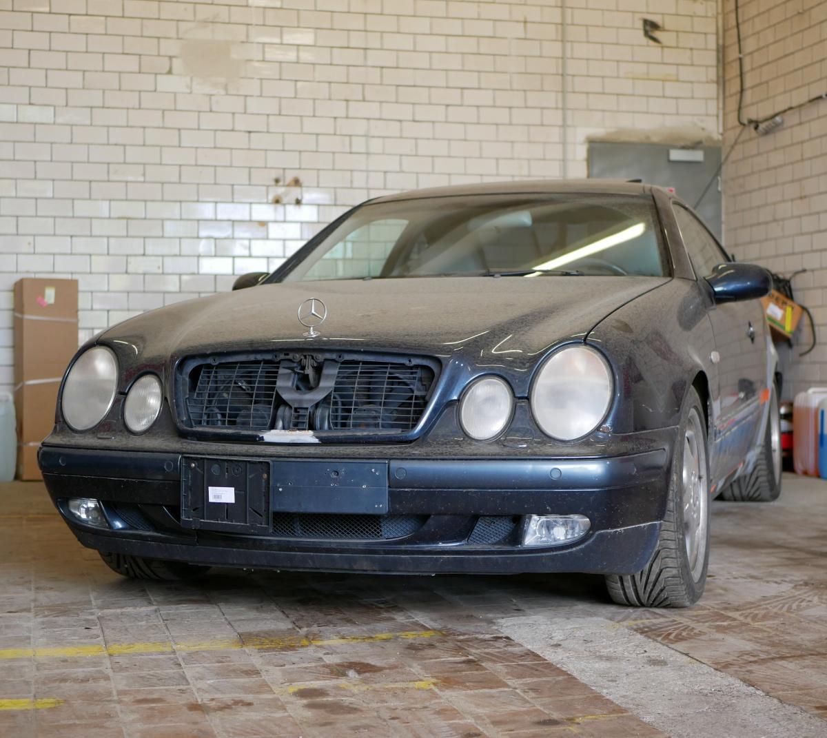 Projekt Mercedes-Benz CLK 430