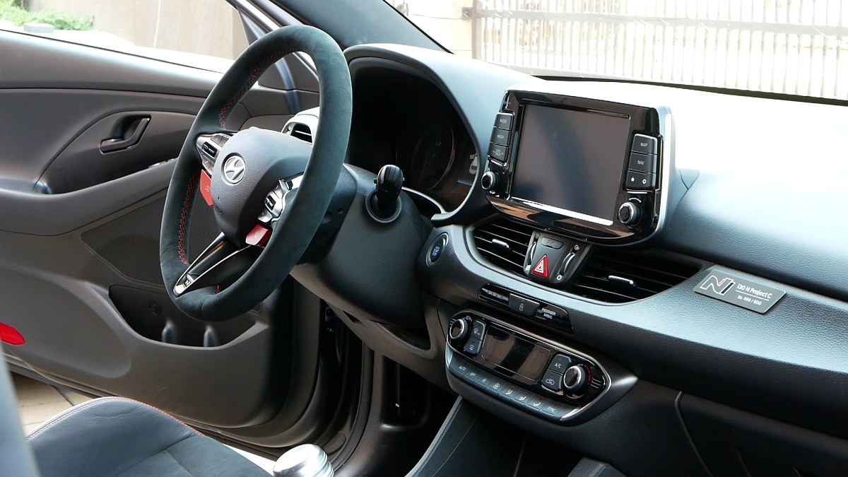 Interiér Hyundai i30 N Project C