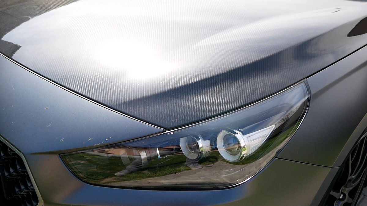 Karbónová kapota Hyundai i30 N Project C