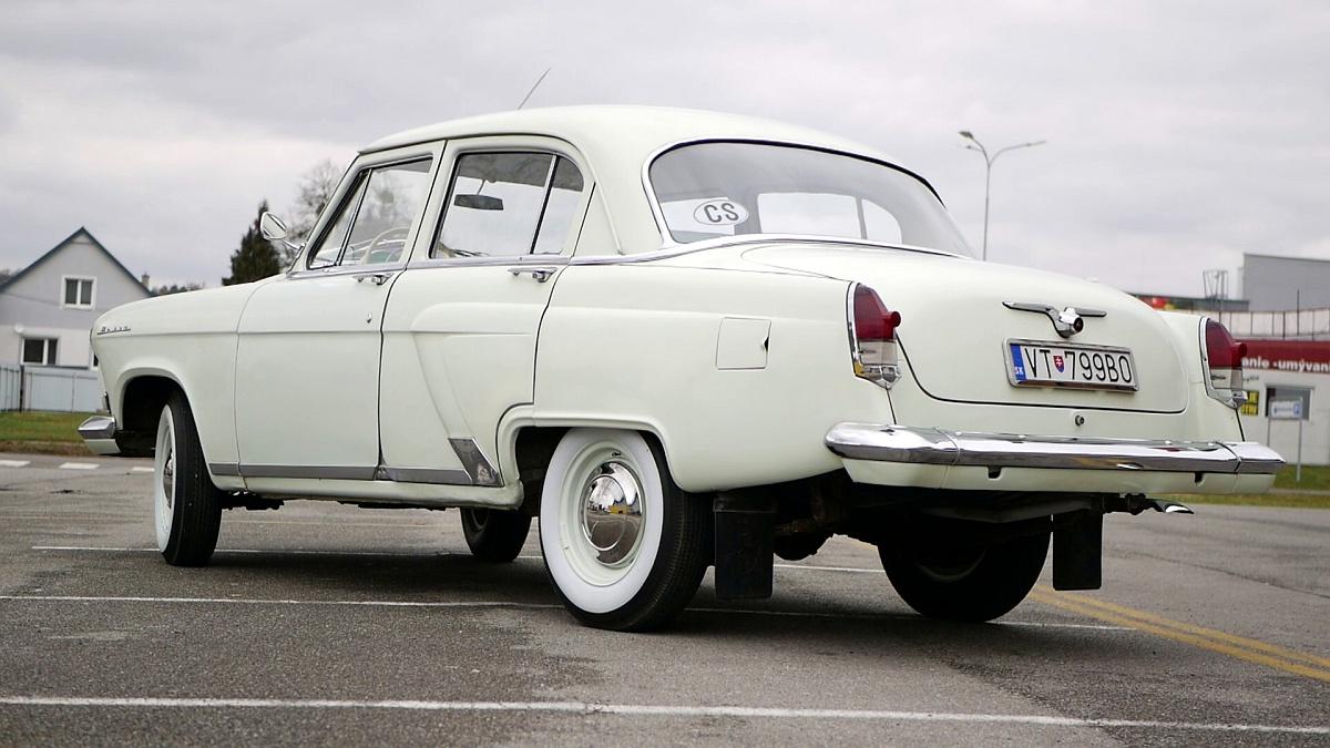 Volga GAZ 21 alias Cárovná