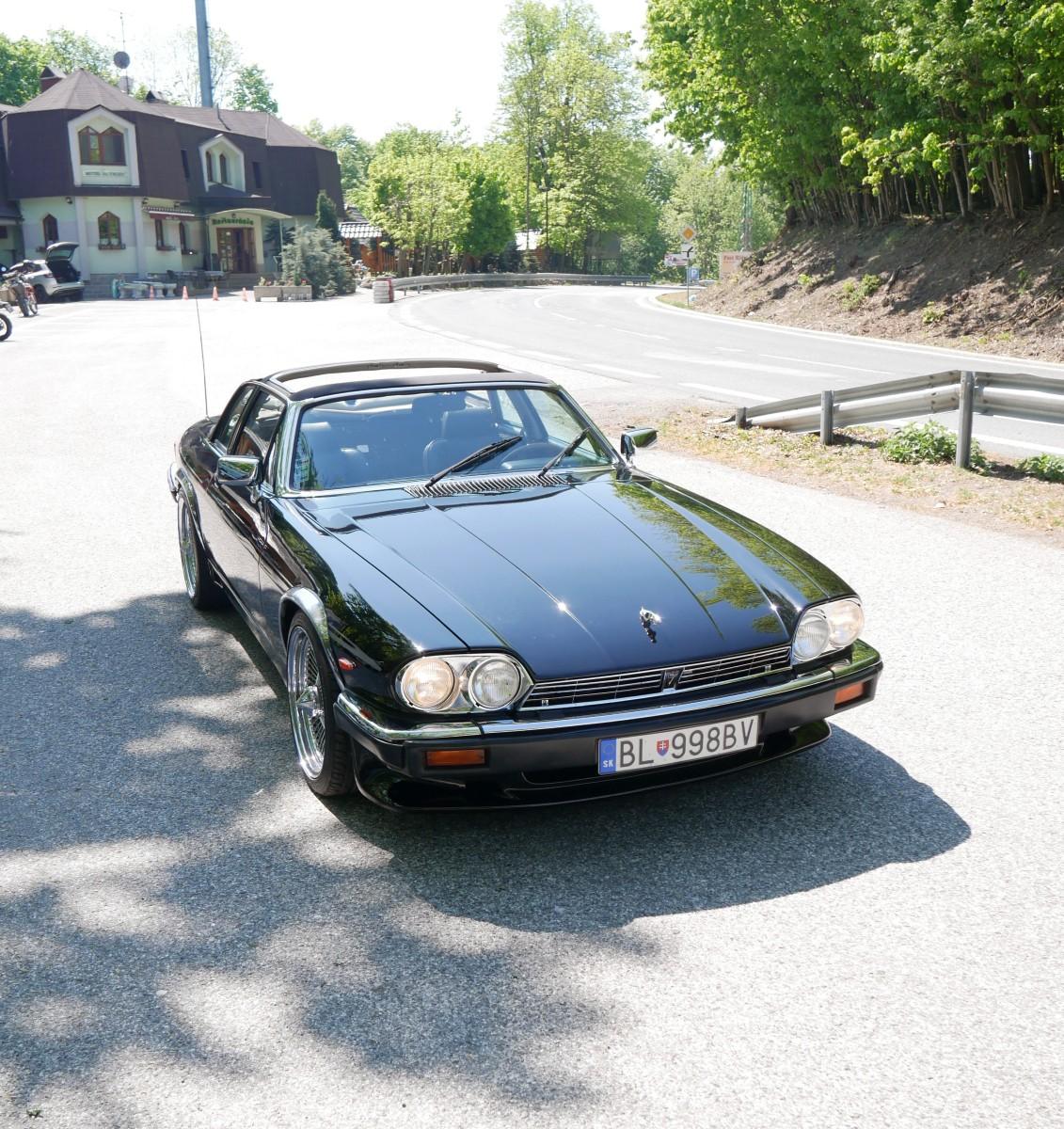 Jaguar XJ-SC na Pezinskej Babe