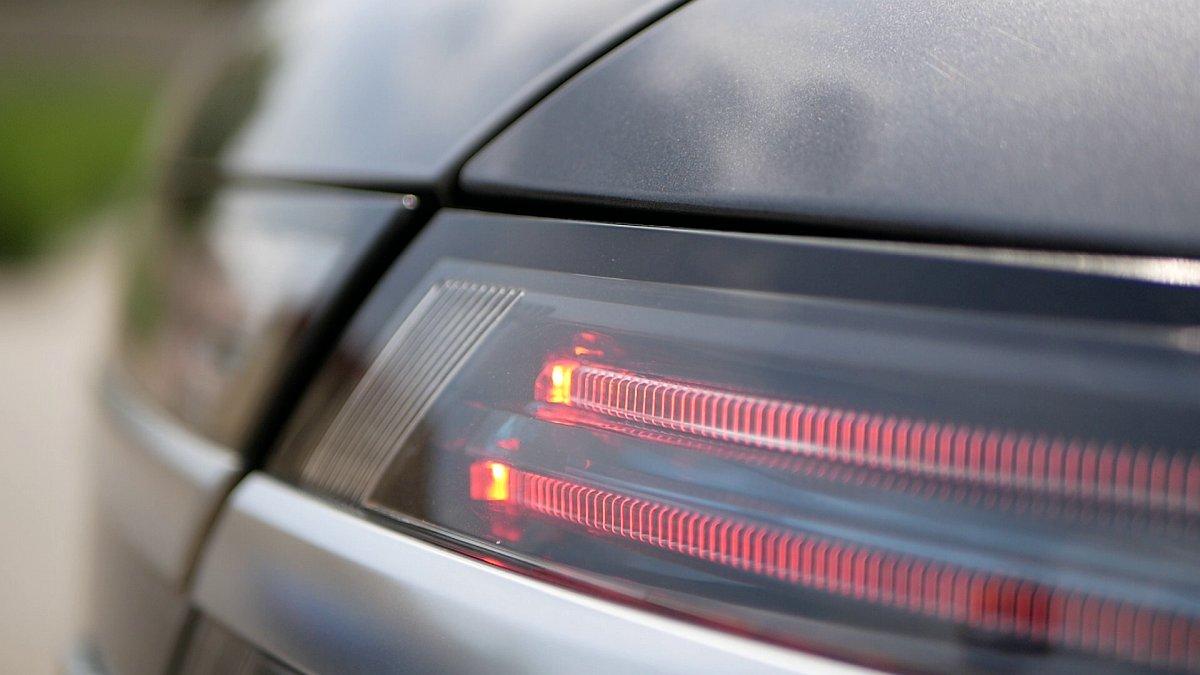Saab 9-5 s LED osvetlením