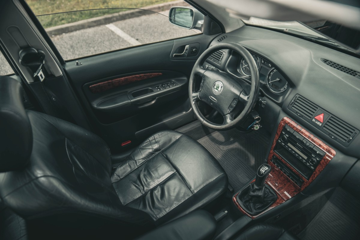Interiér Škoda Octavia 1.9 TDI