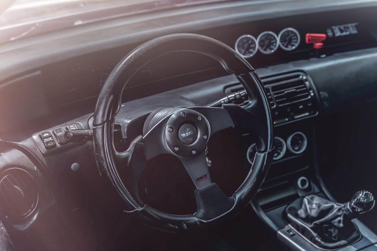 Interiér Honda Prelude 4. generacie