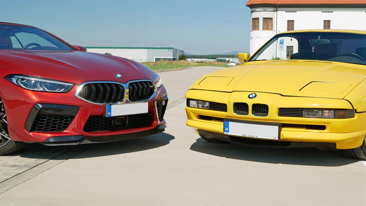 BMW 850i E31 a BMW M8 F91
