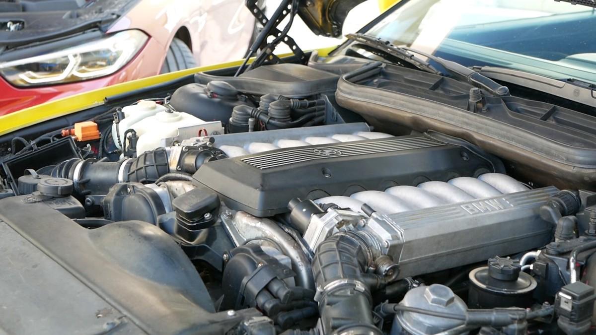 V12 motor BMW 850i E31