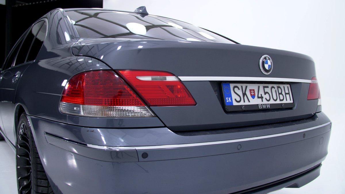 BMW 745d E65