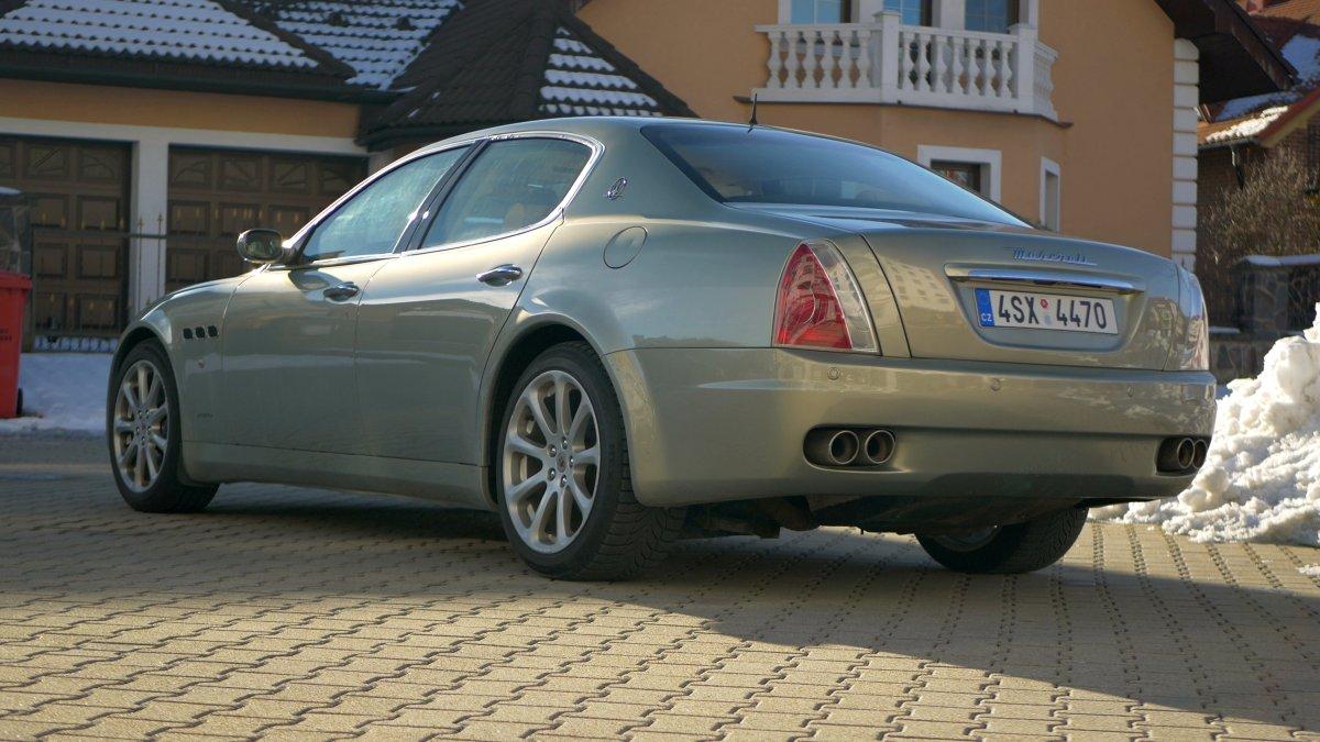 Maserati Quattroporte 4.2 V8 M139