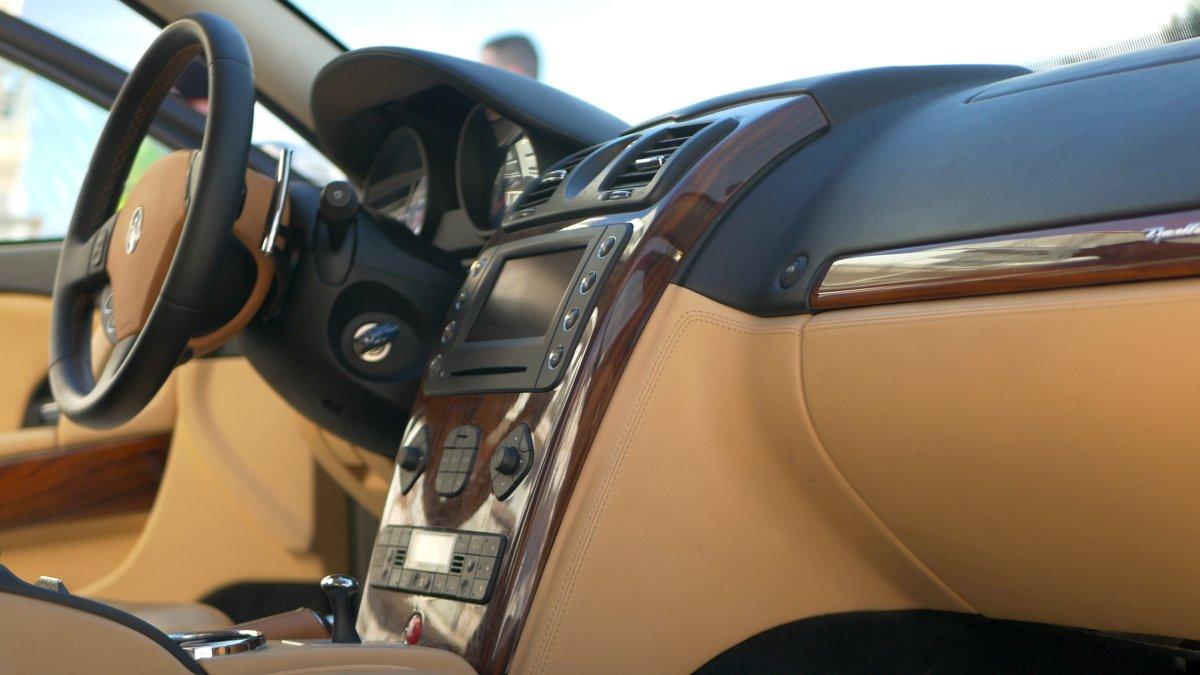 Interier Maserati Quattroporte