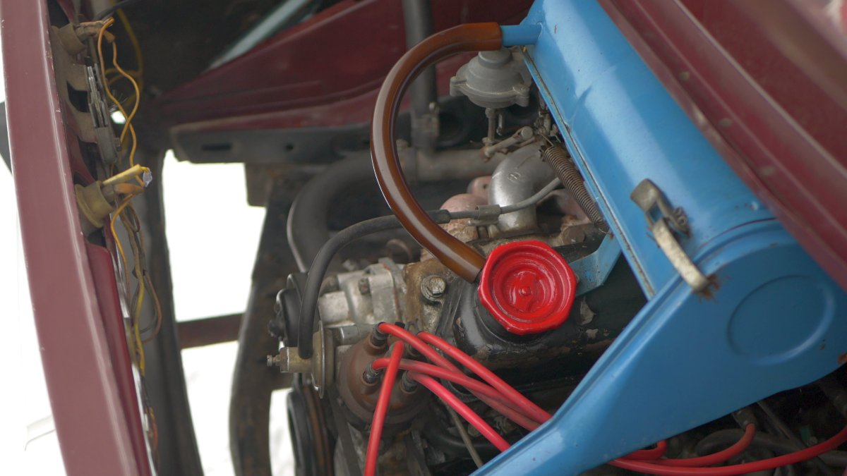 Motor Škoda 120 typ 742