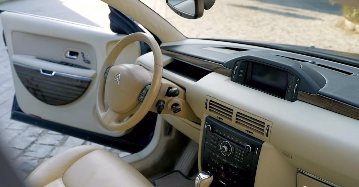 Interiér Citroën C6