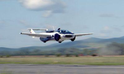 Lietajúce auto AirCar od Klein Vision