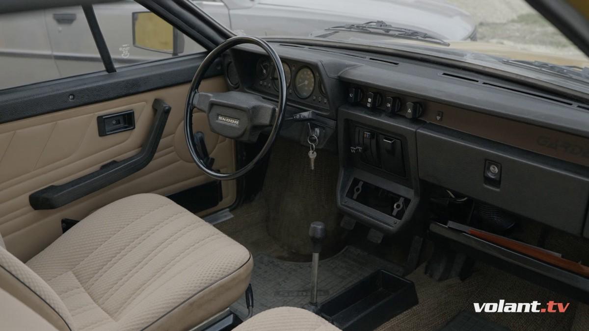 Škoda Garde Inteirér