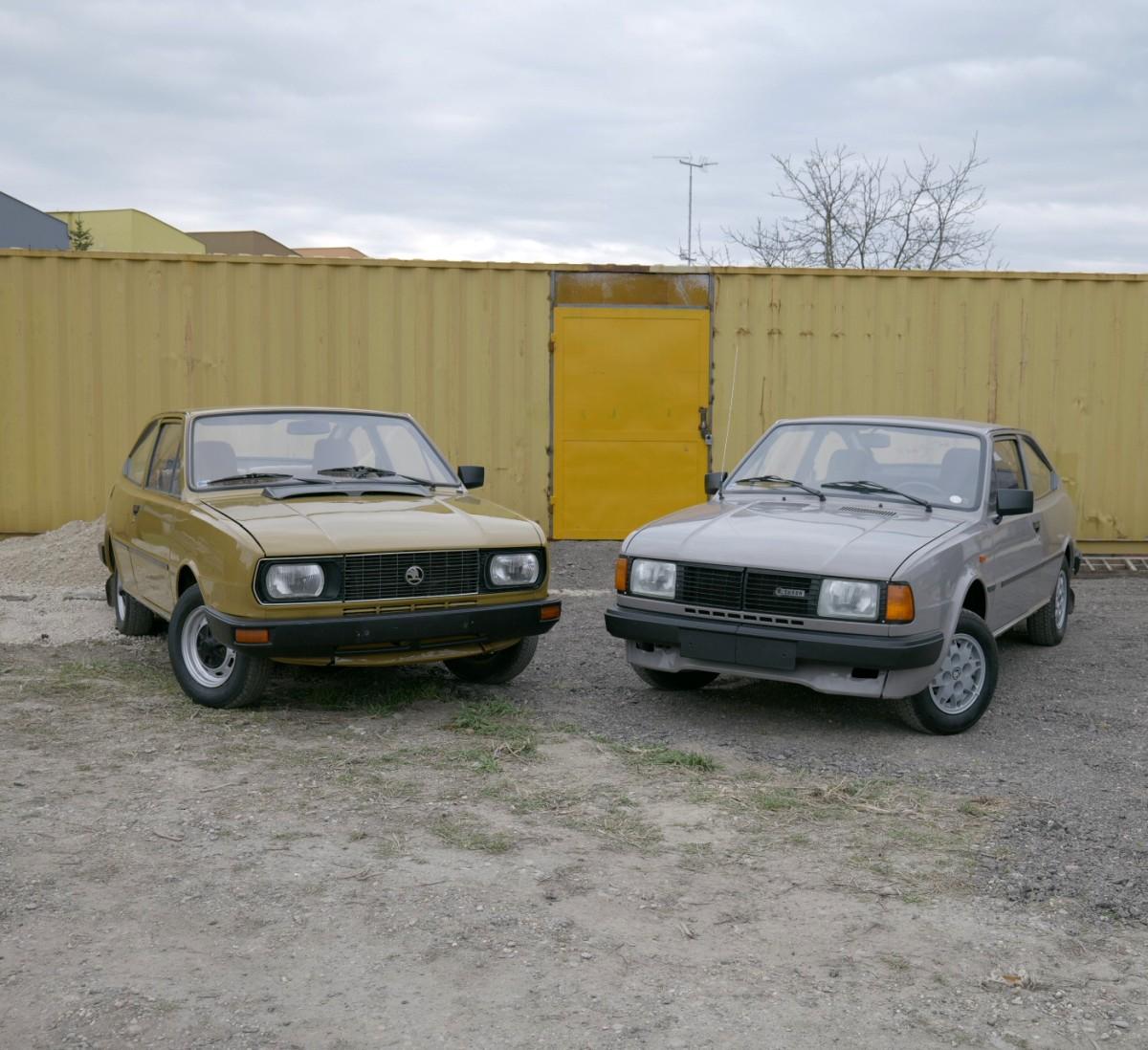 Škoda Garde a Rapid
