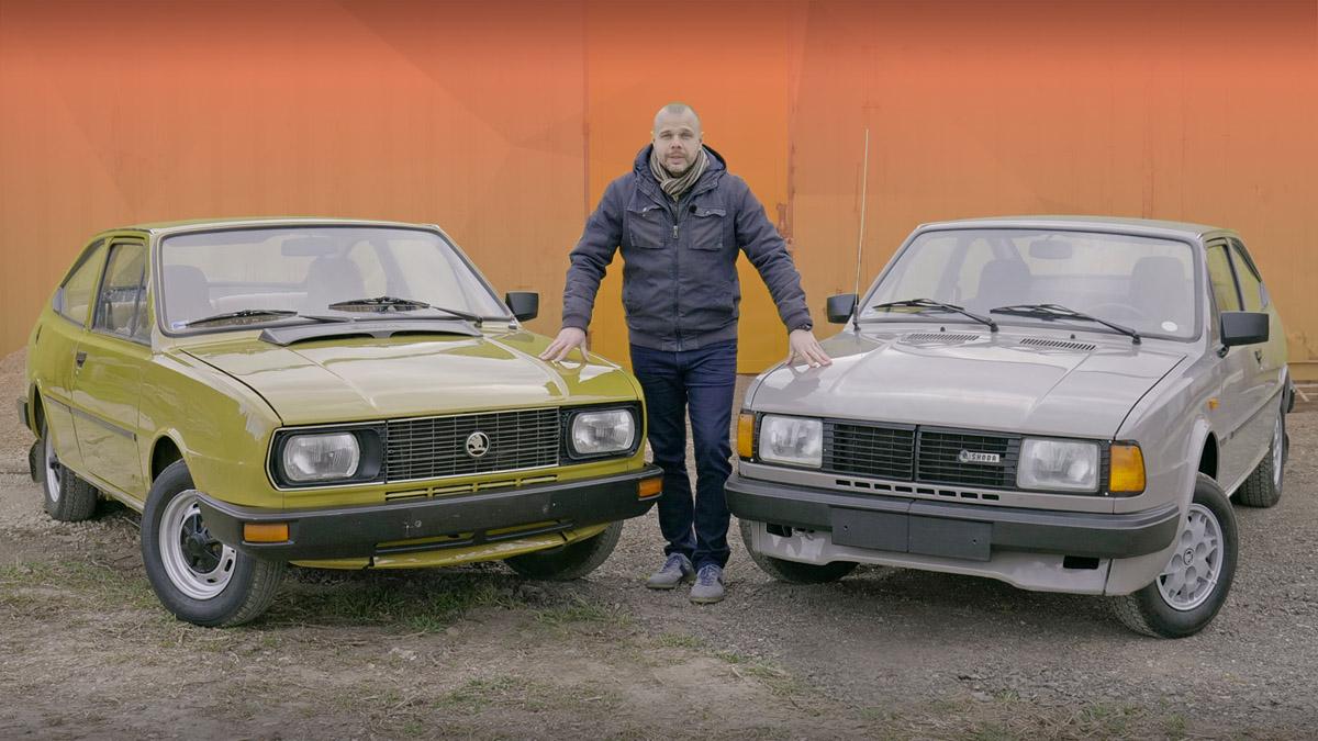 Škoda Rapid a Škoda Garde