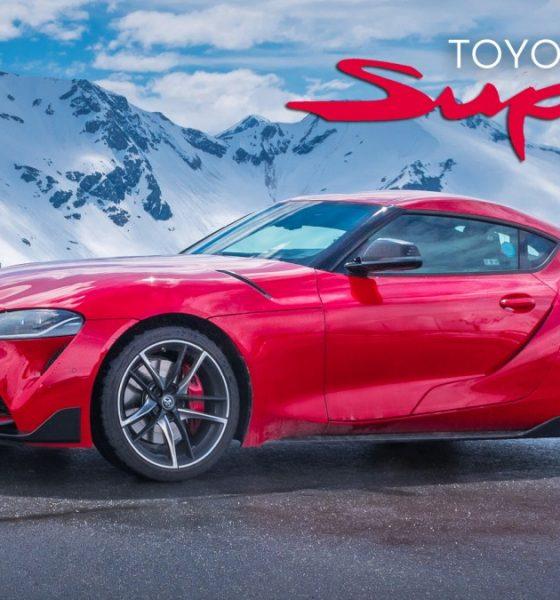 Toyota Supra MK5 a Grossglockner